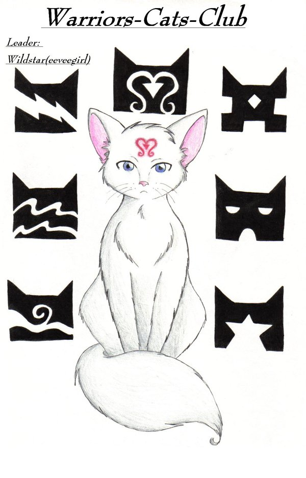 warrior cat (2 clan i created) by animefan4foxlover on