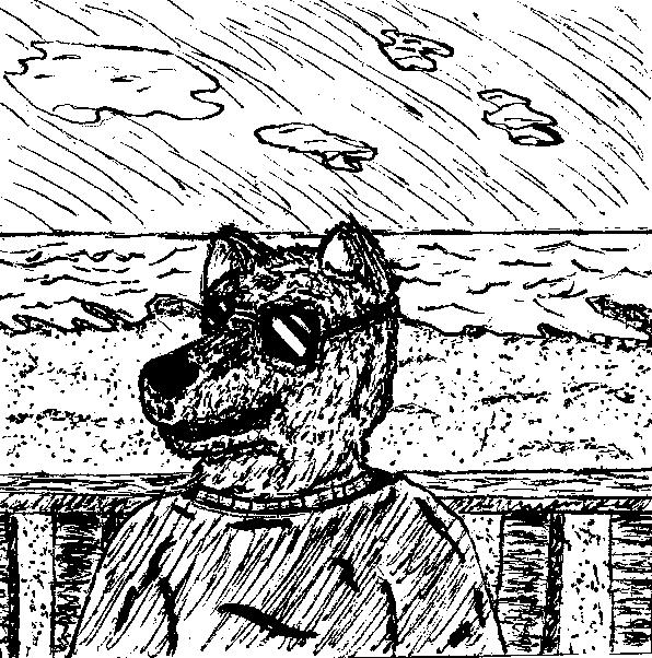 Anthro Beach Sketch