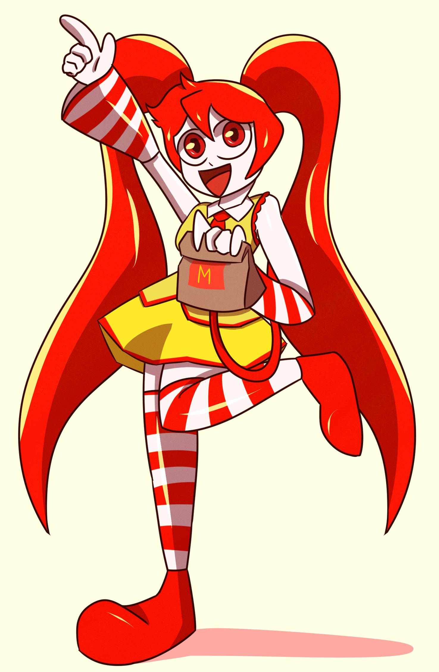 McDonalds Miku