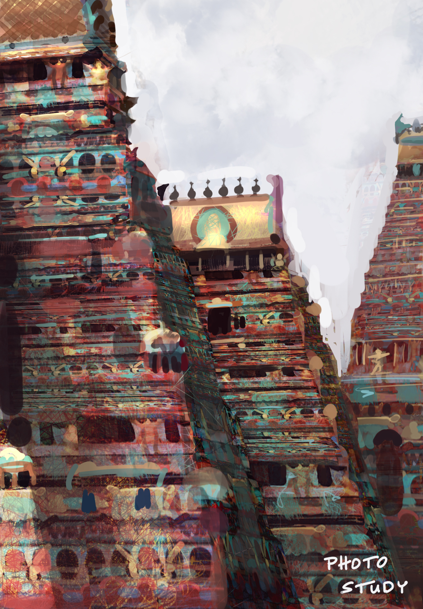 temple study
