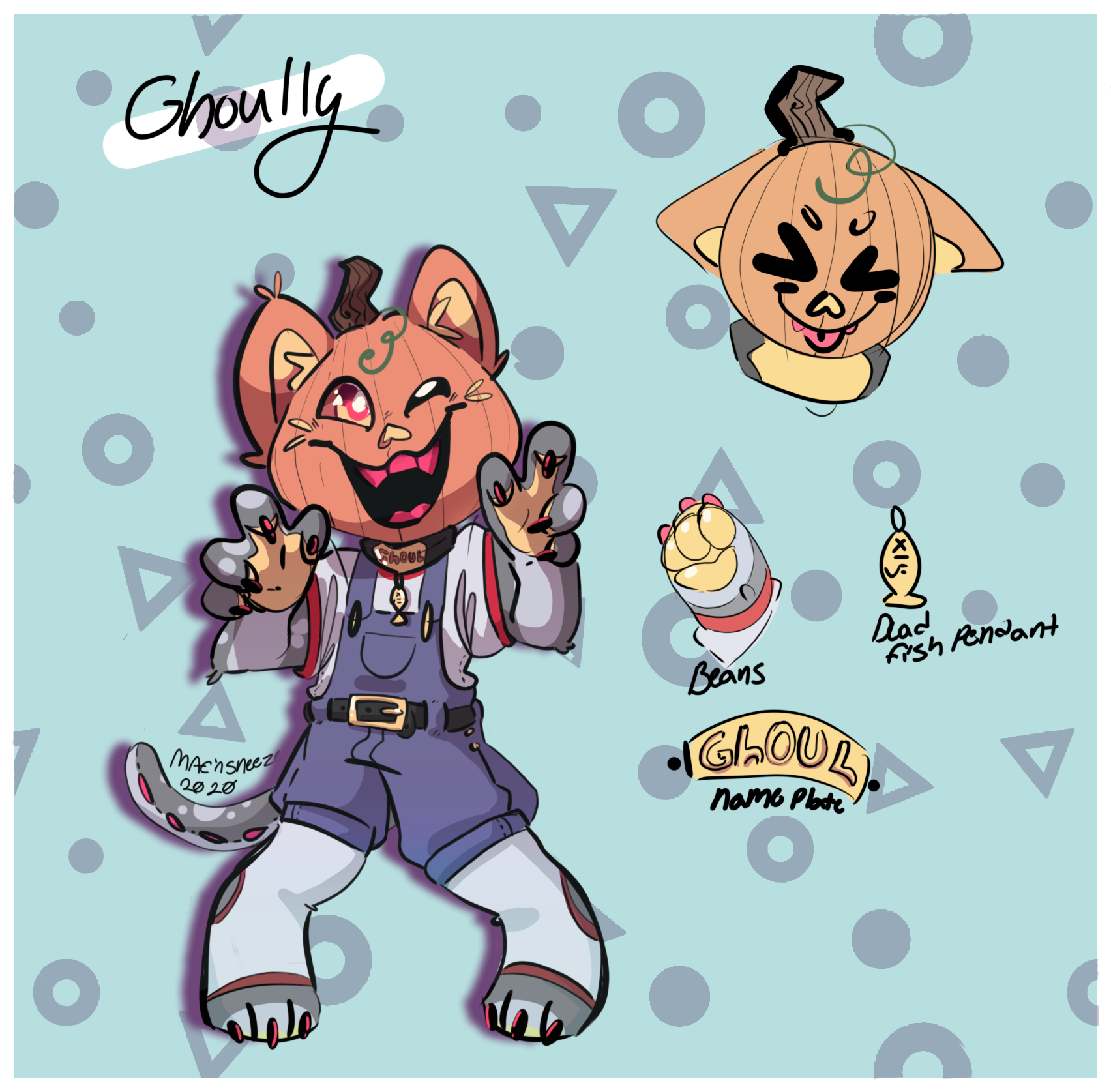 Ghoully the pumpkitty