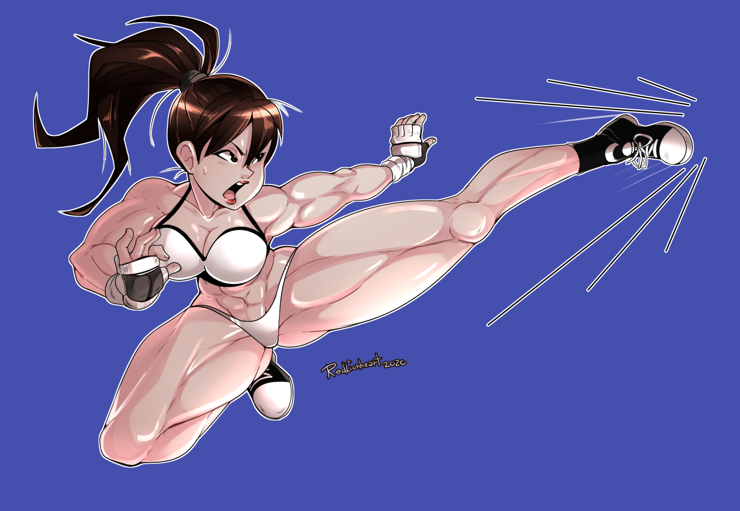 Sparring Chun-Li Commission