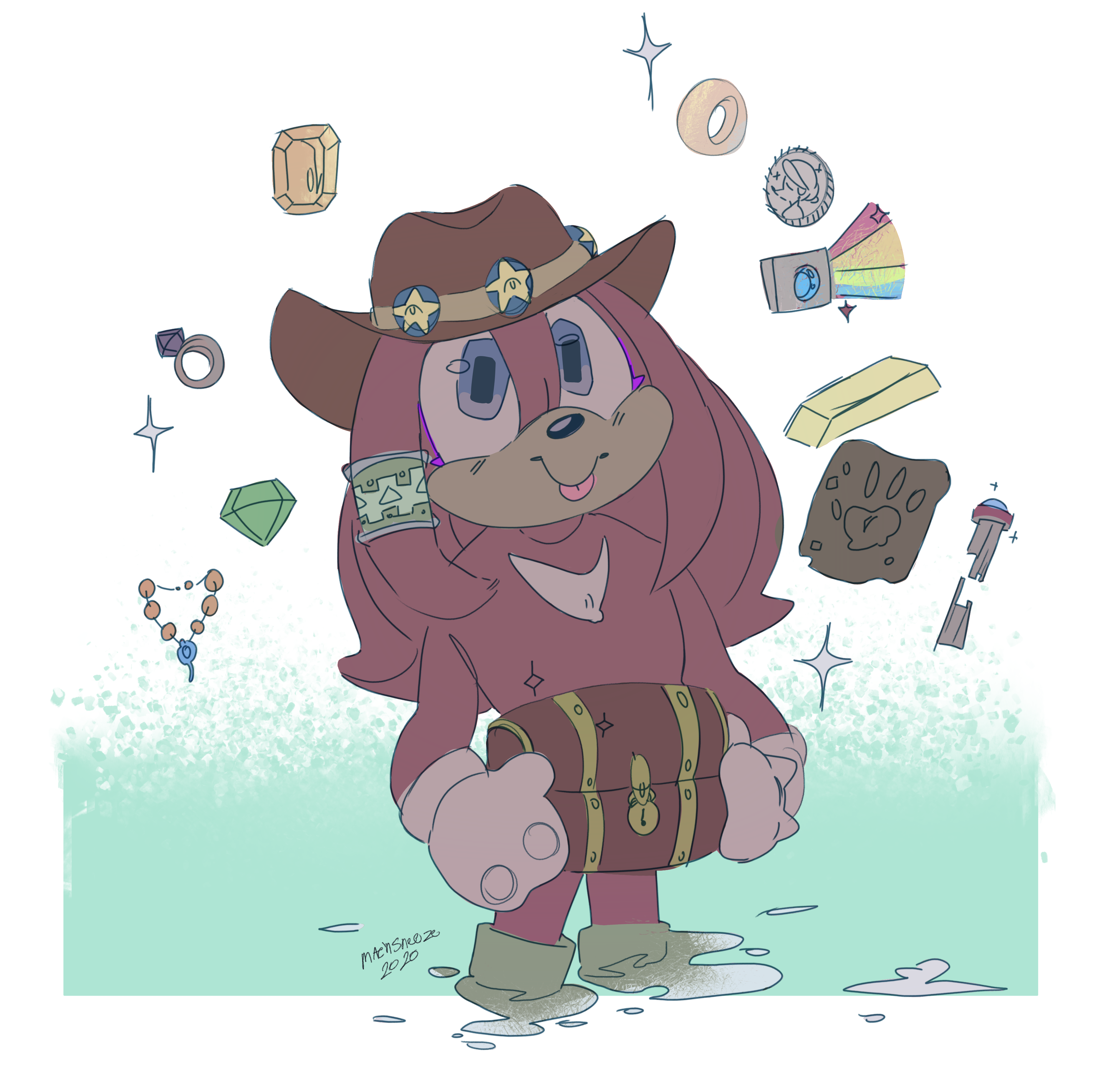 The treasure boi!