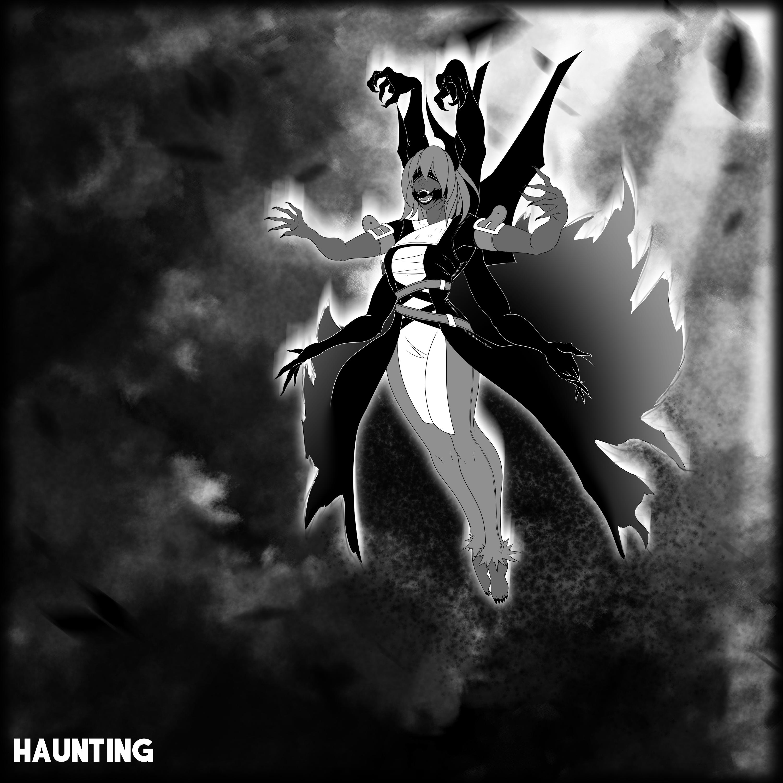 Inktober I: Haunting