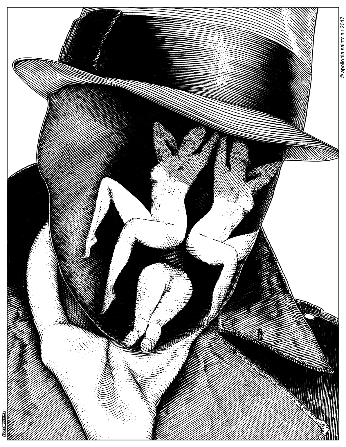 Apollonia Saintclair 747 - 20170906 Le Rorschach (You are what you see)