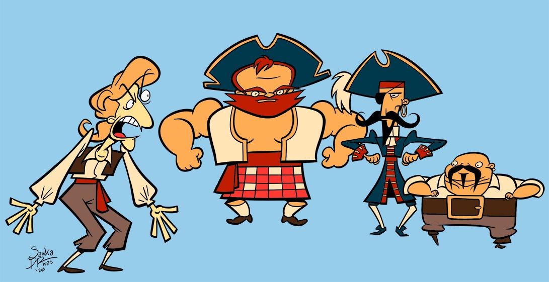 A Band of Vicious Pirates