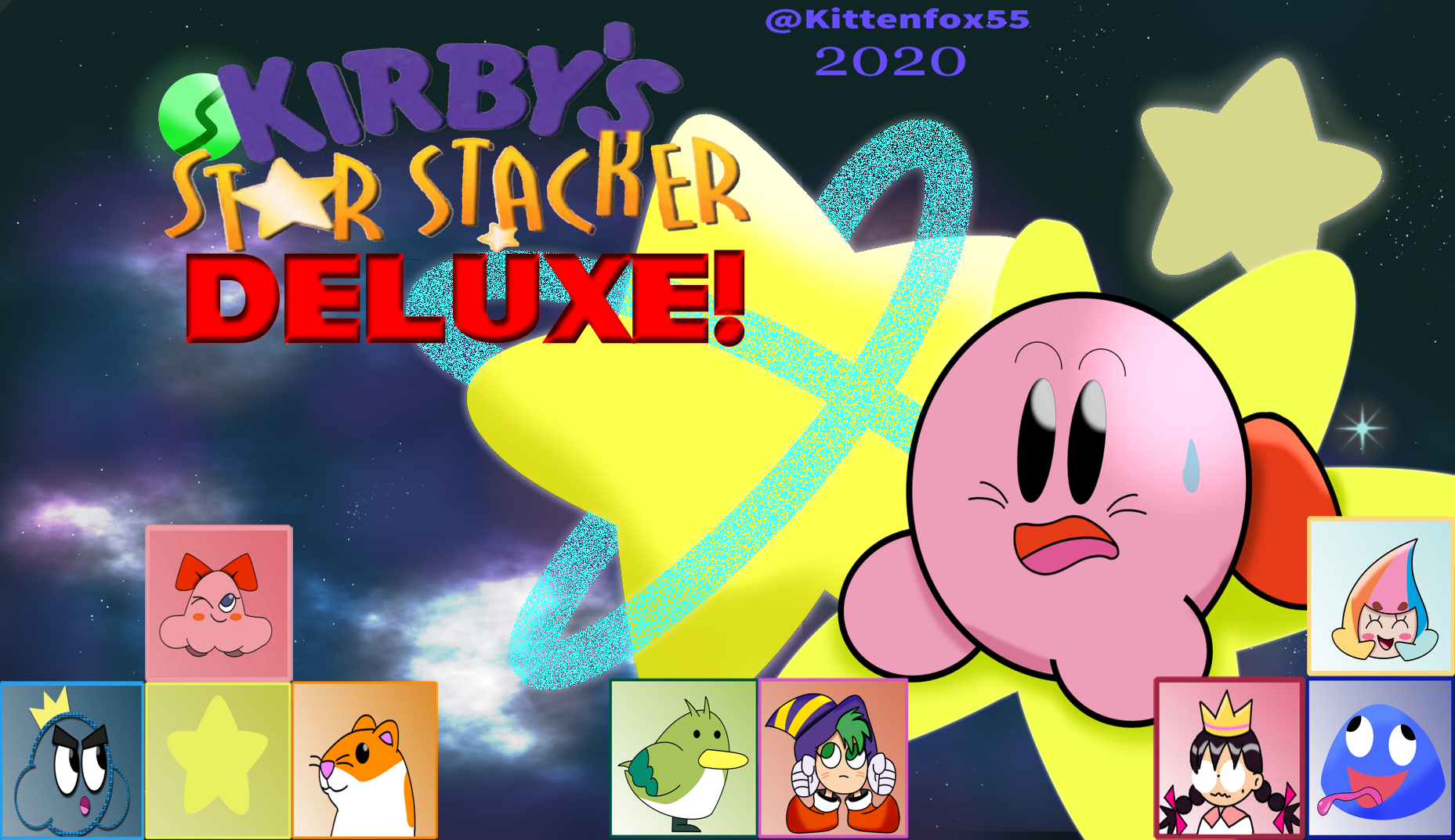 Kirby's Star Stacker Deluxe