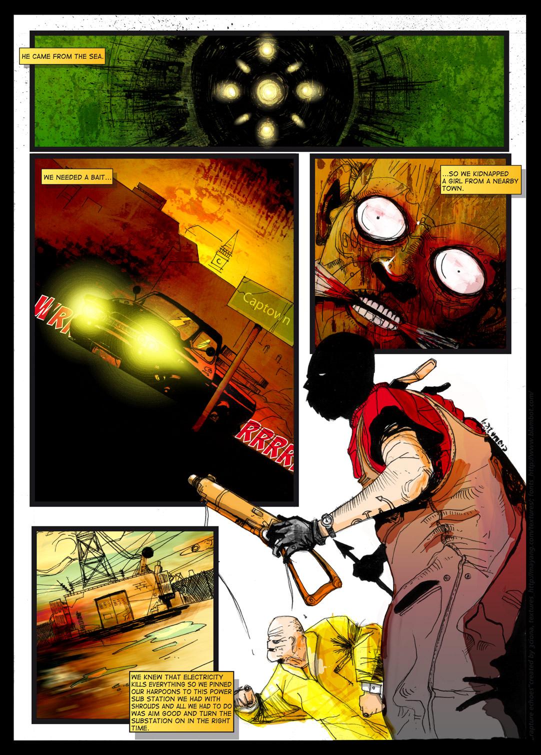 bioshock fan comic book pg 5