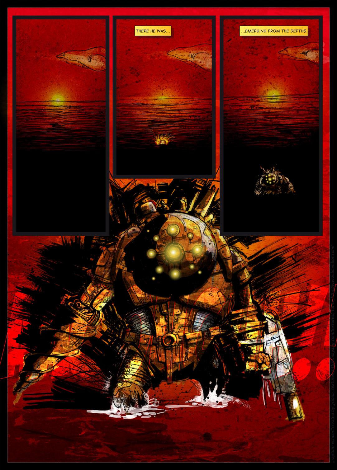 bioshock fan comic book pg7