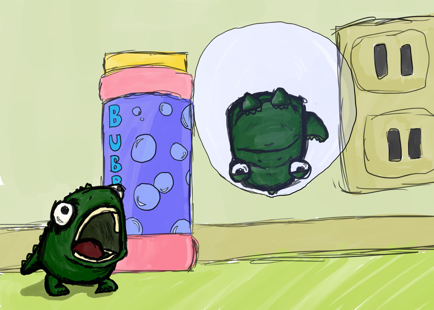 BubbleDinos