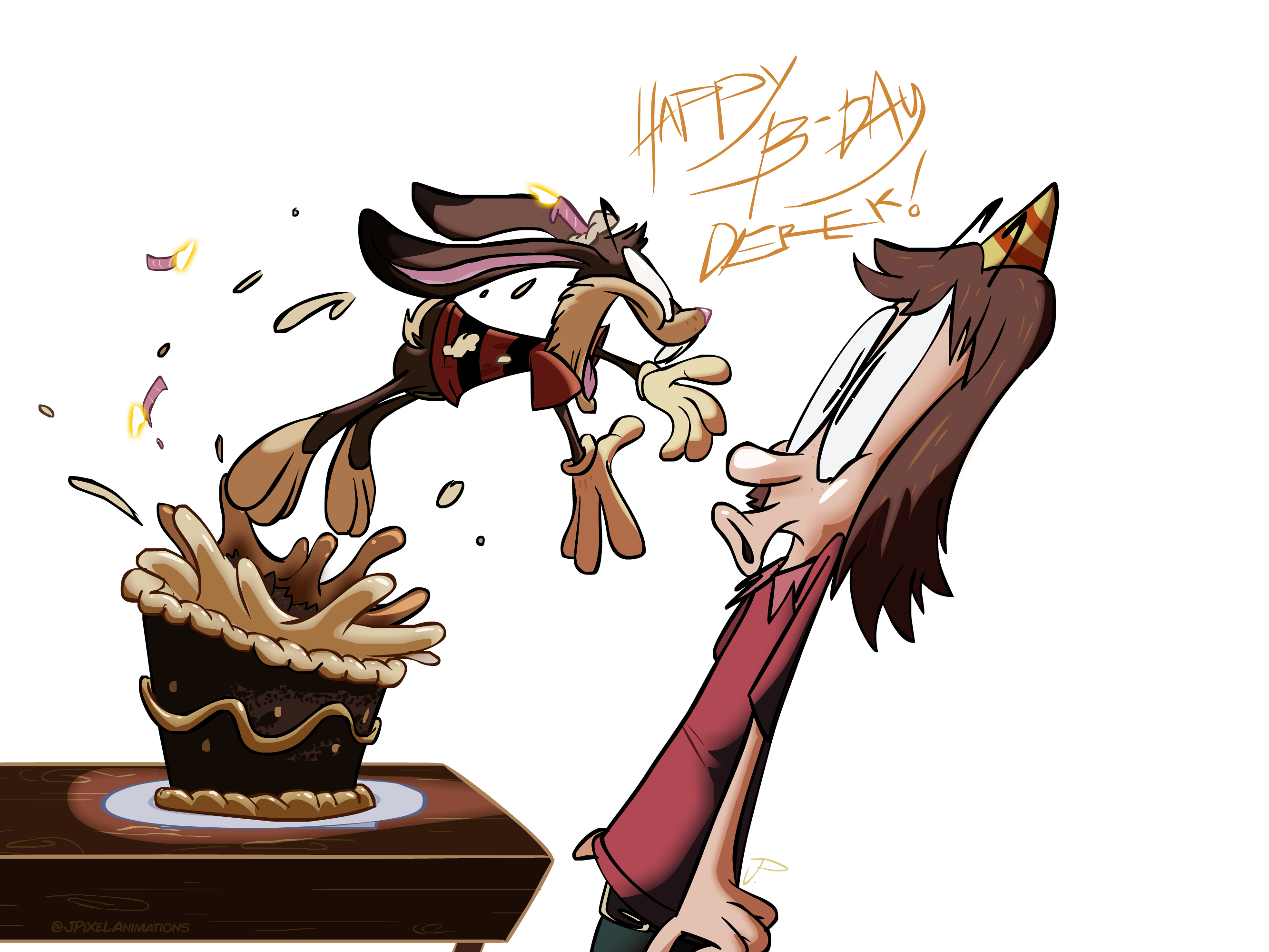 Hopper busts loose! (bday gift for ShockValueToons)