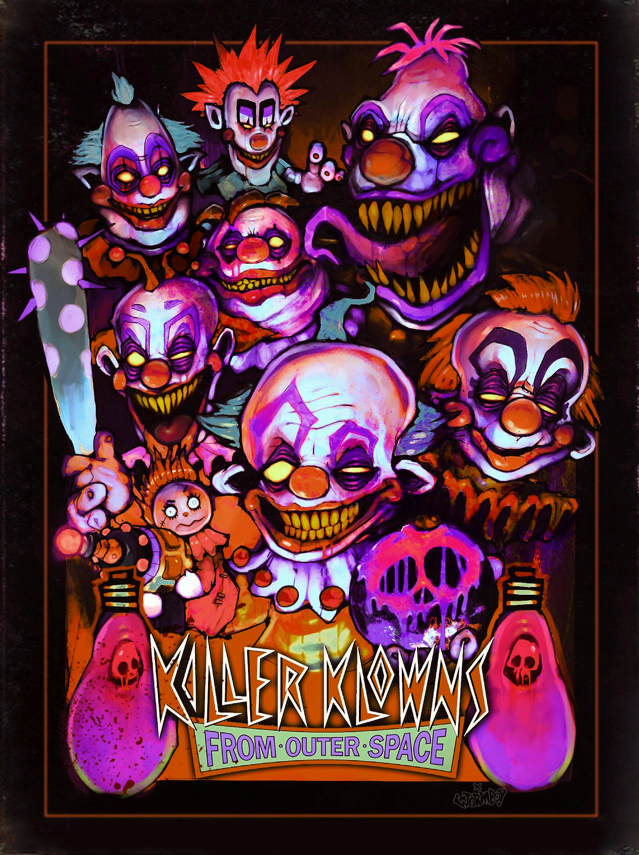 KLLER KLOWNS FROM OUTER SPACE
