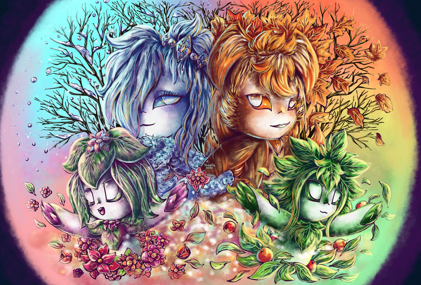 Seasonal circle