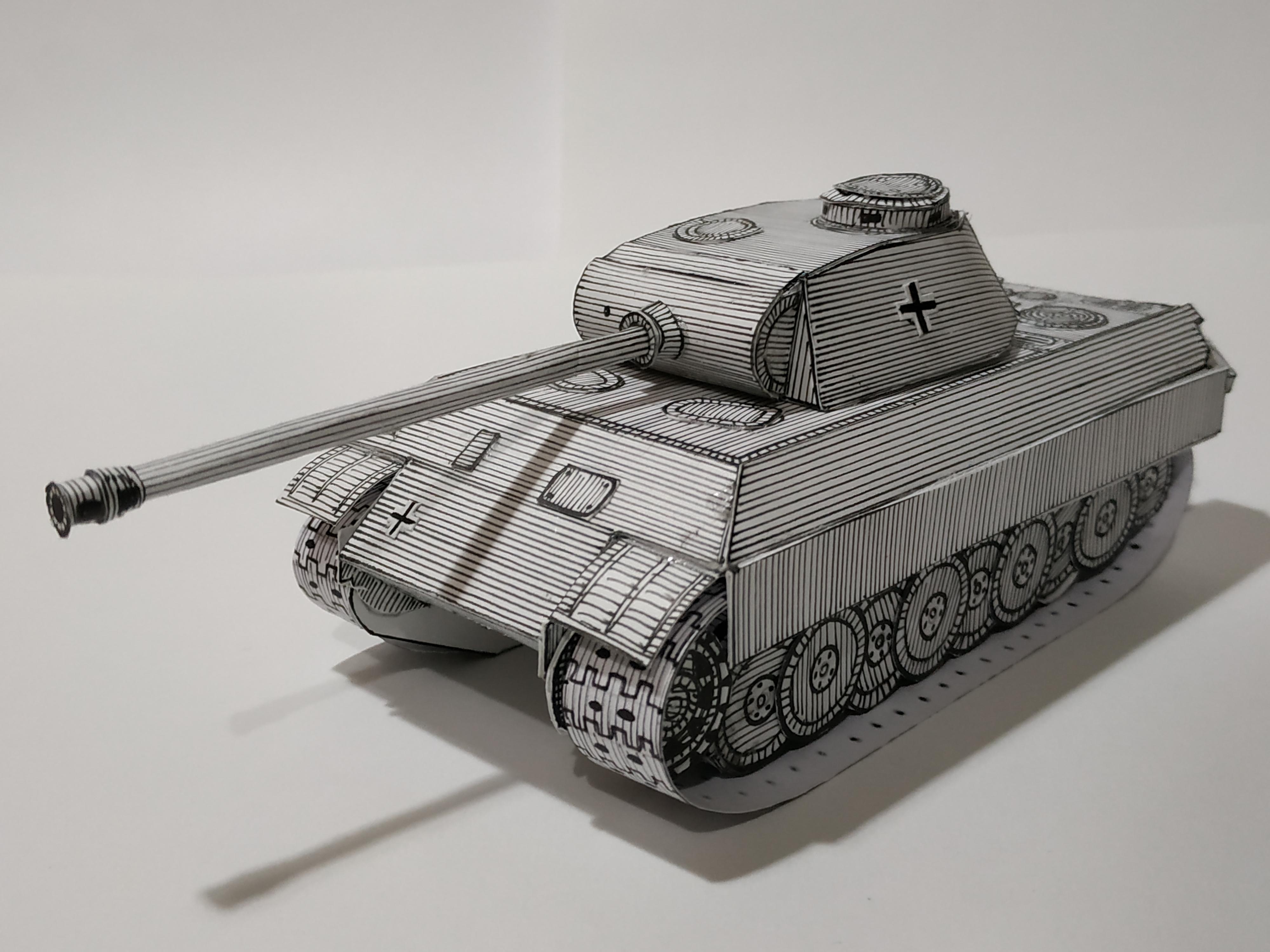 """Panzer V """"Panther"""" (German Medium Tank)"""