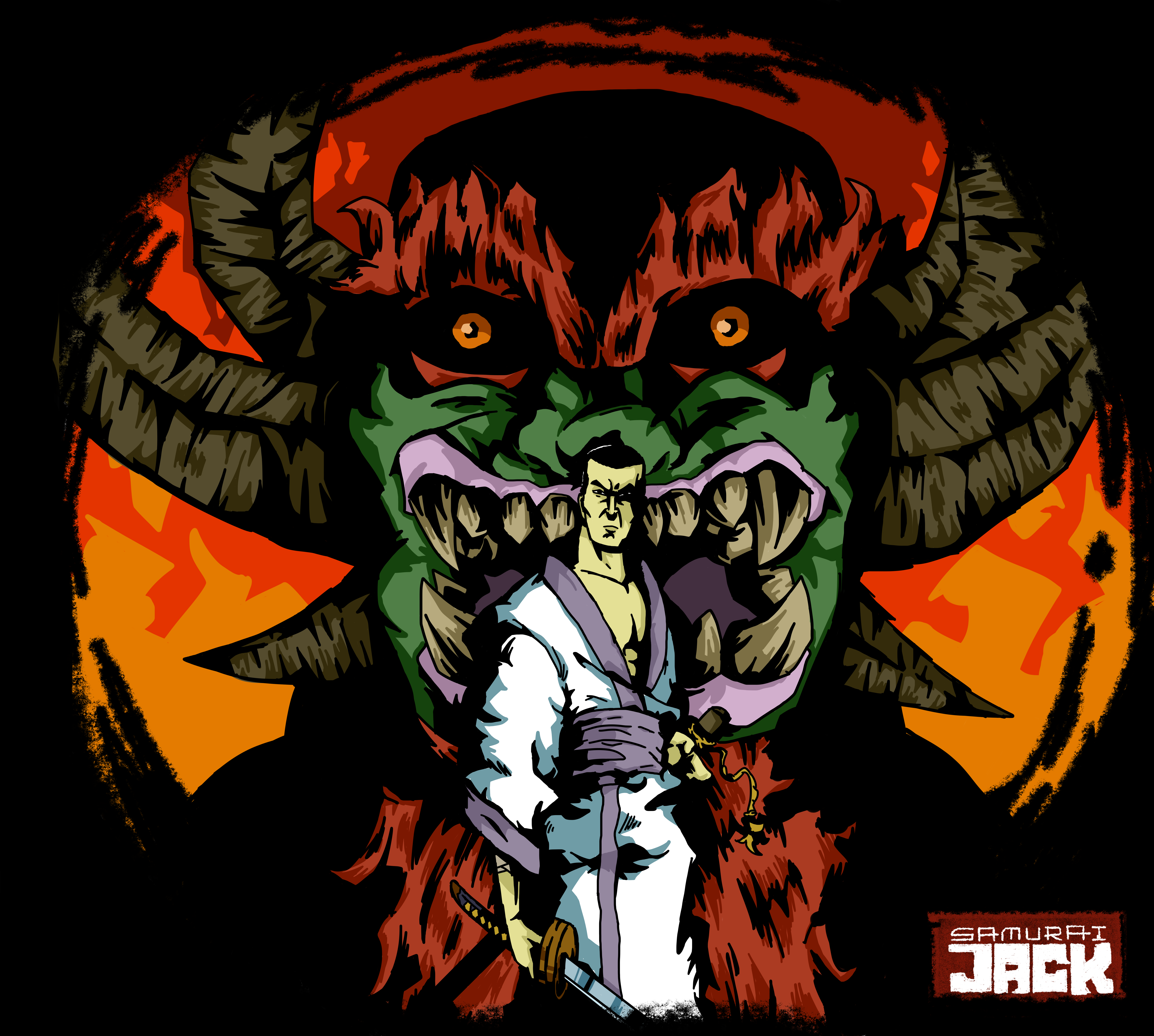 Jack and Aku