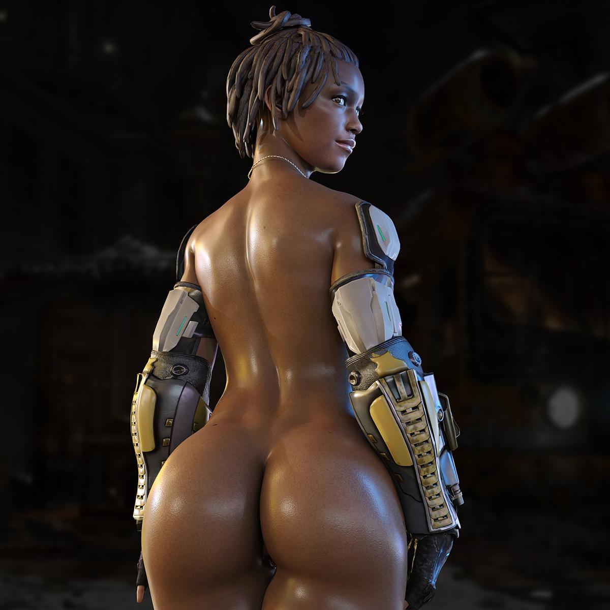 Jacqui Briggs (Ass) - Mortal Kombat 11