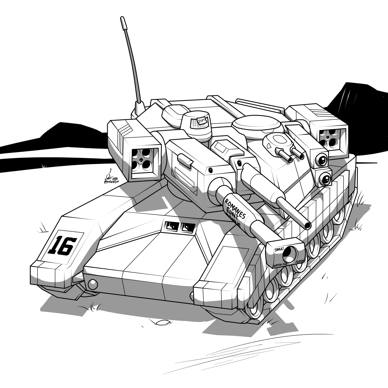 Comm destraa: Kiernan Main Battle Tank