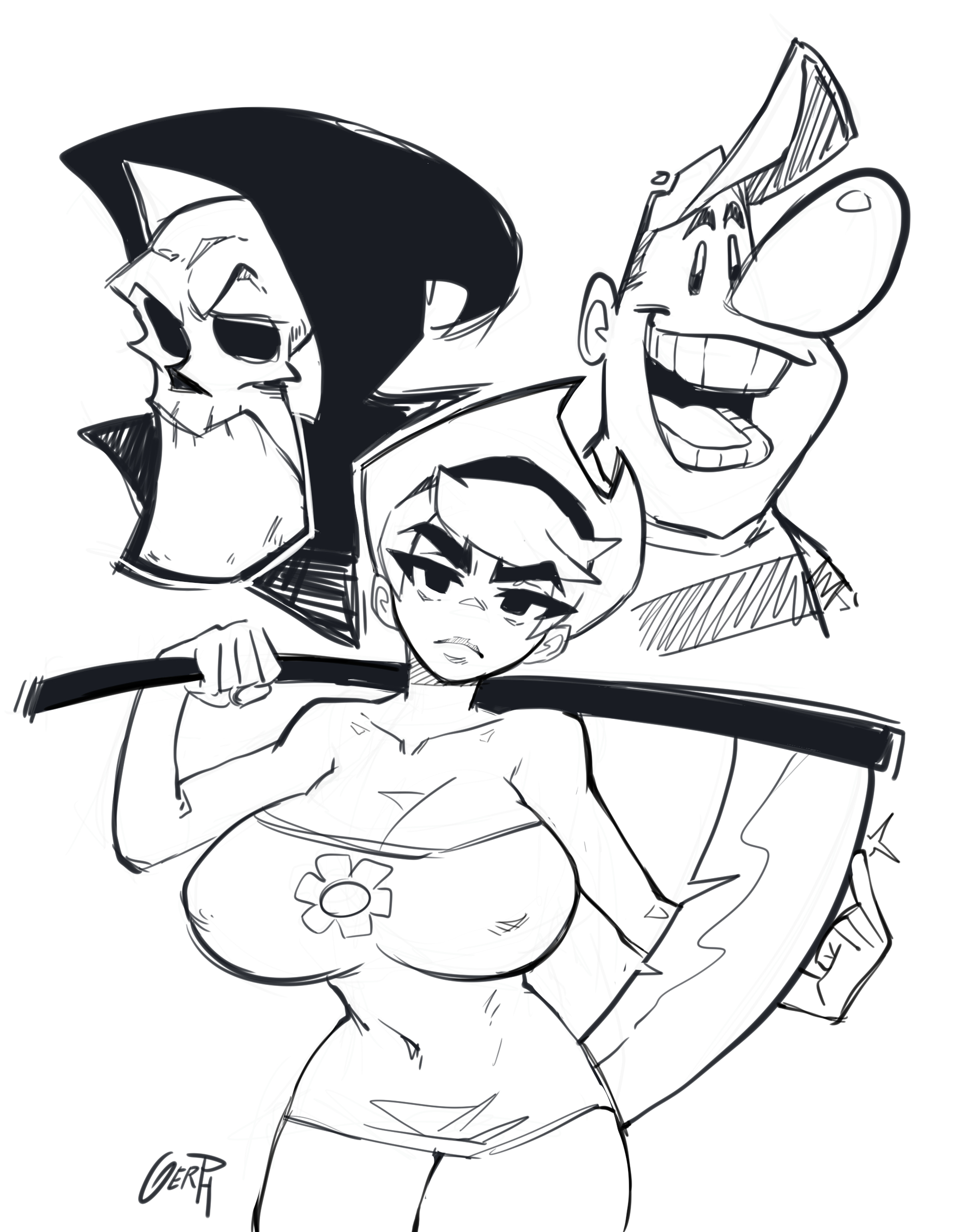 Grim, Billy and Mandy