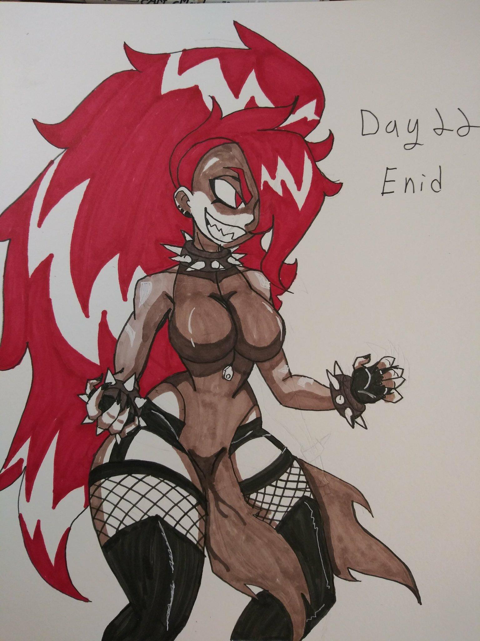 Gothtober day 22- Enid