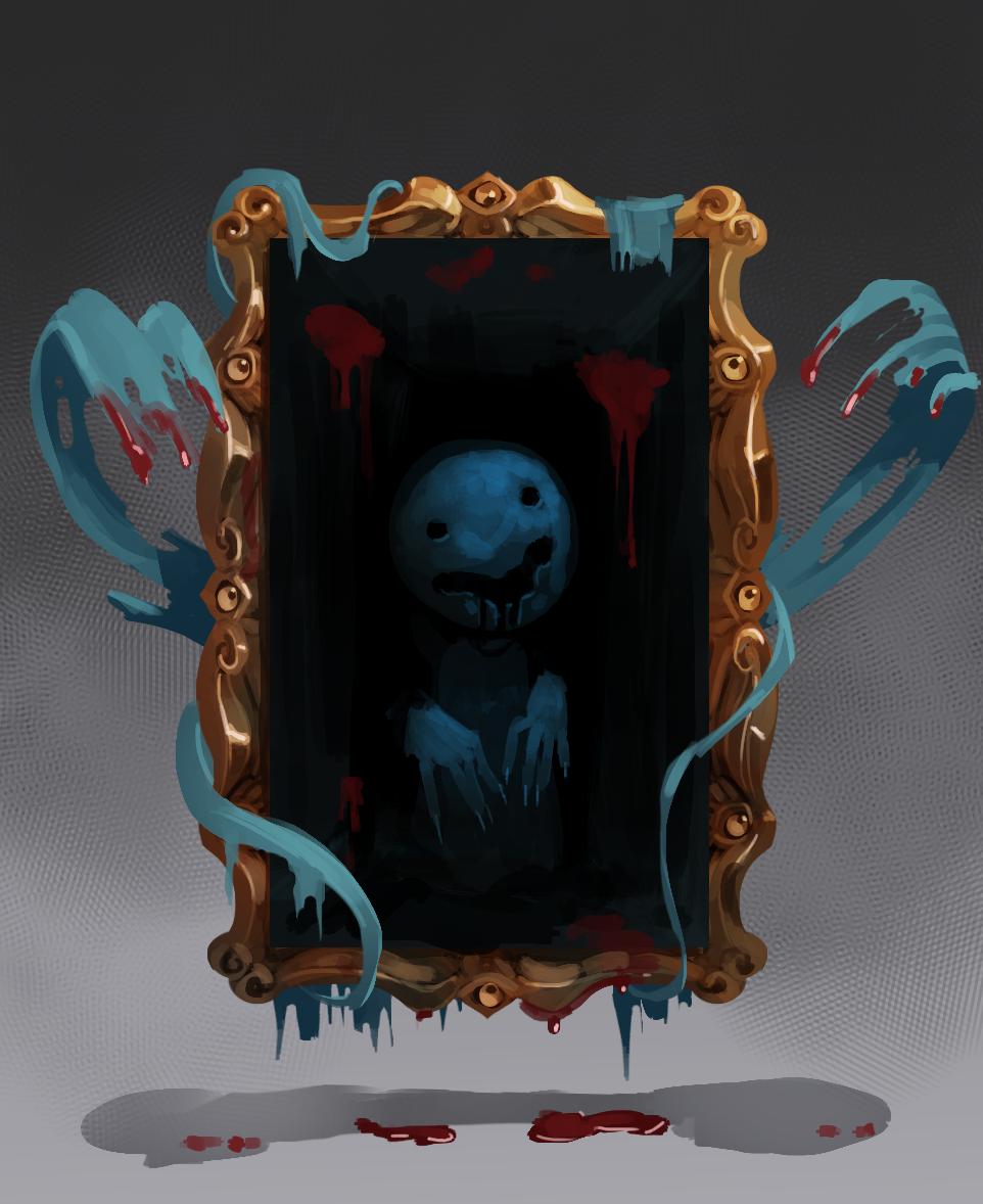 Evil portrait