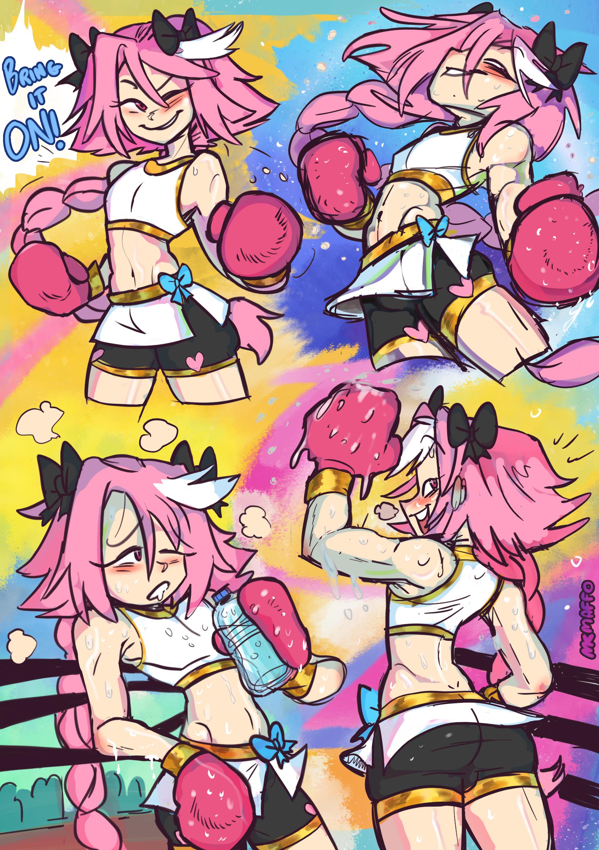 Astolfo boxer!
