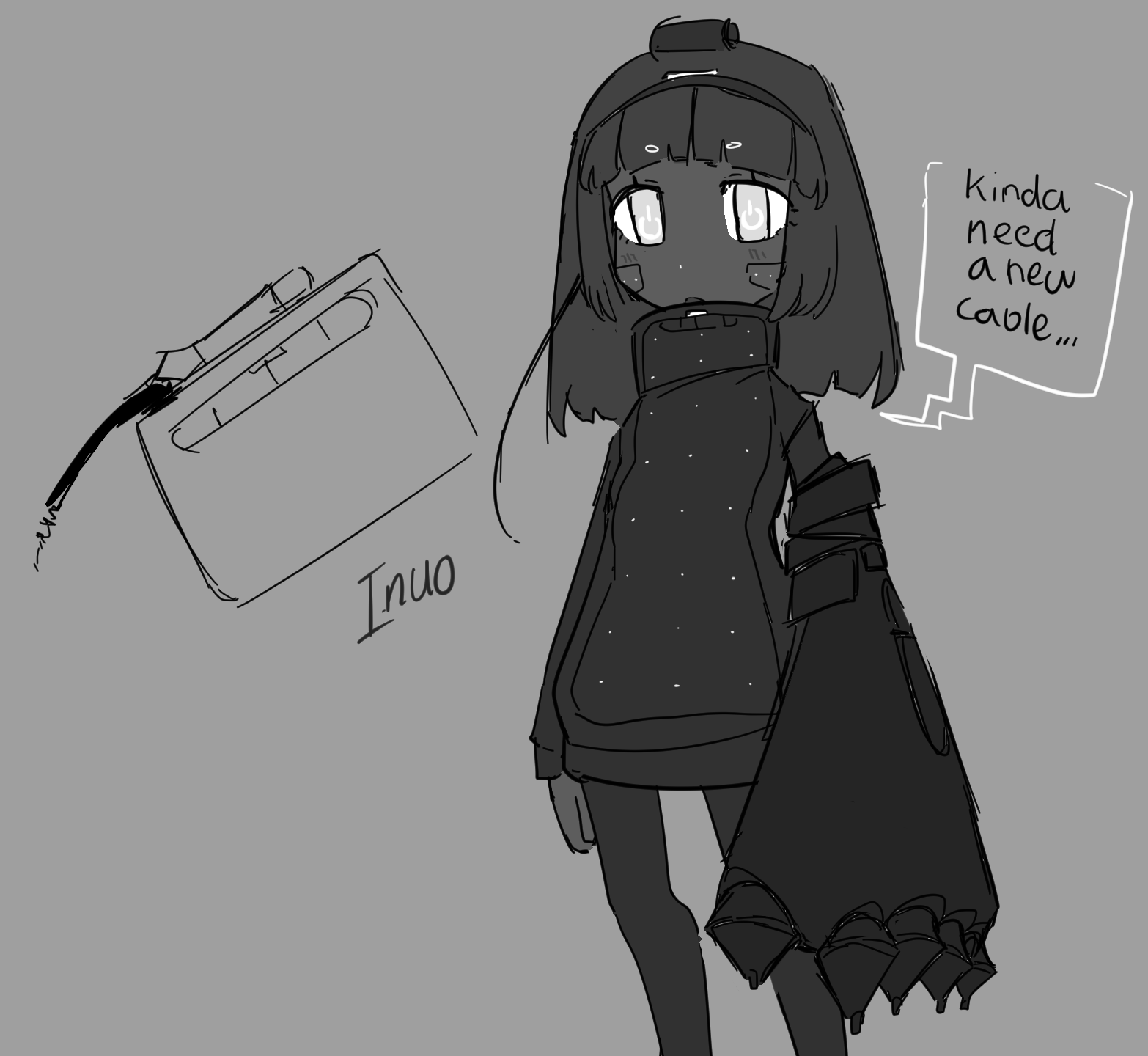 [Character Design] Inuo