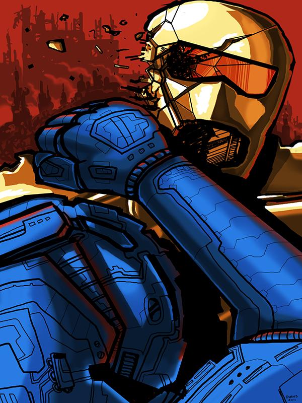 Robot Aggression
