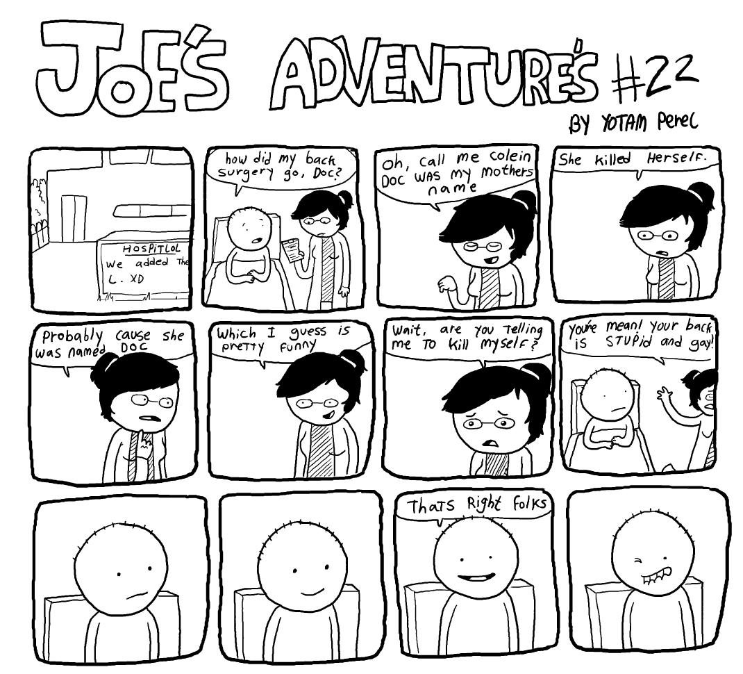 Joe's Adventure's 22
