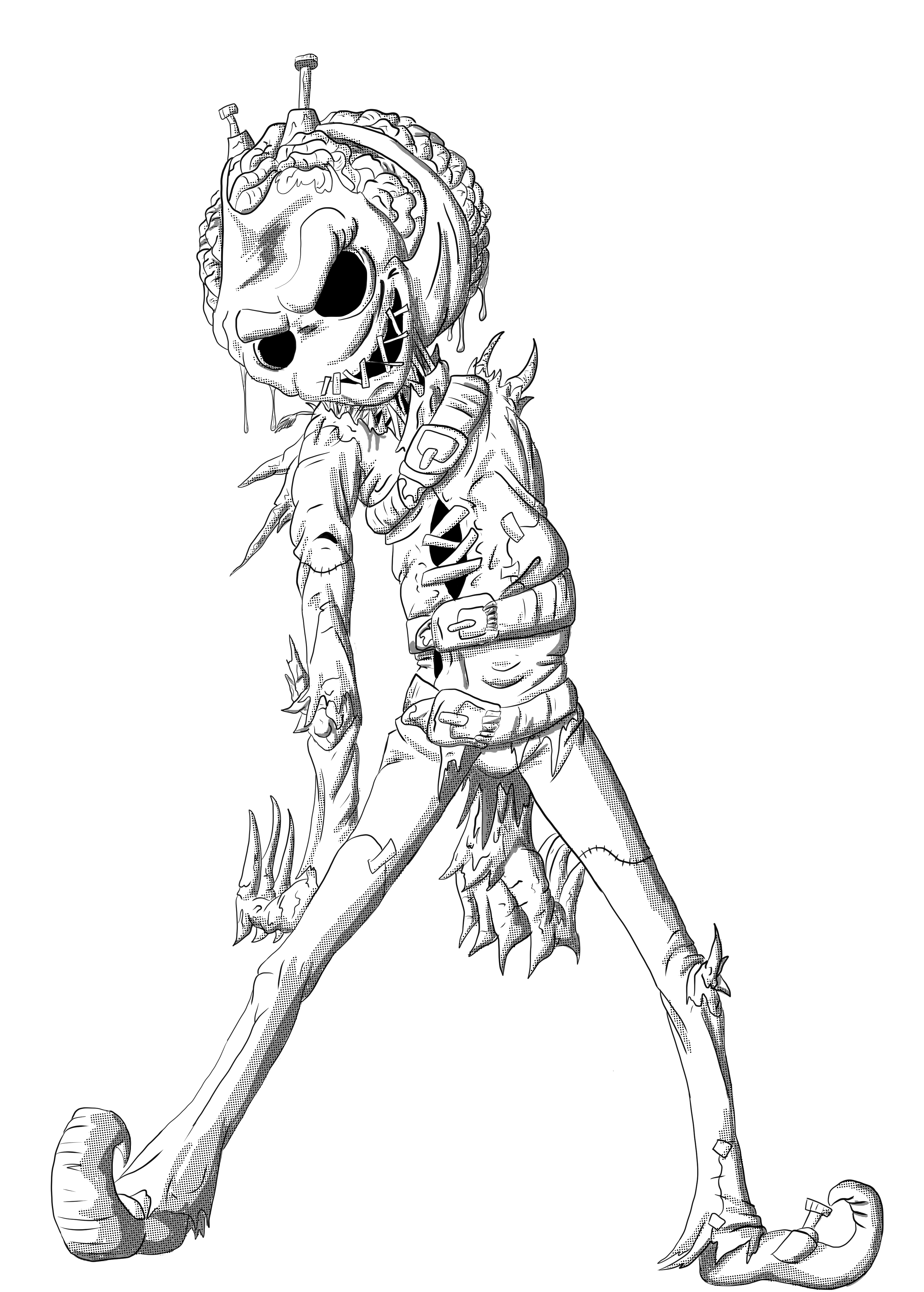 Scarecrow from Wizard of OZ
