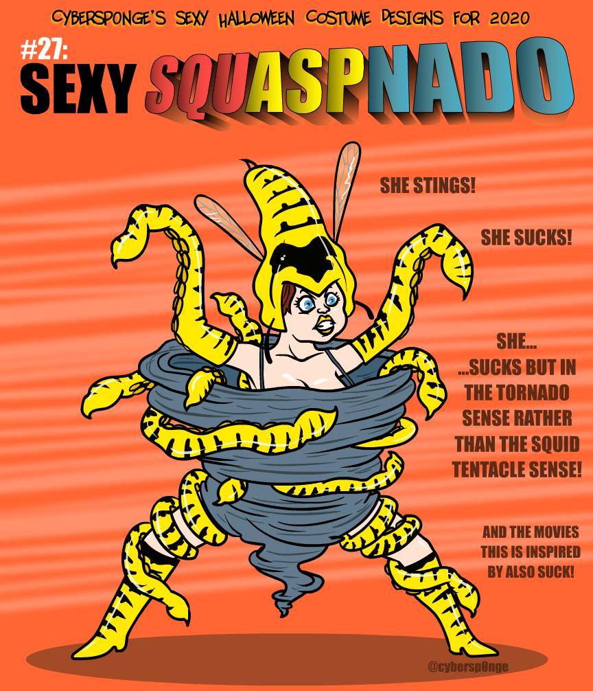 Sexy Squaspnado Costume