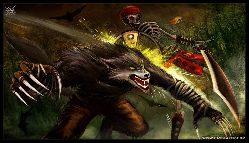 Sabrewulf vs Spinal