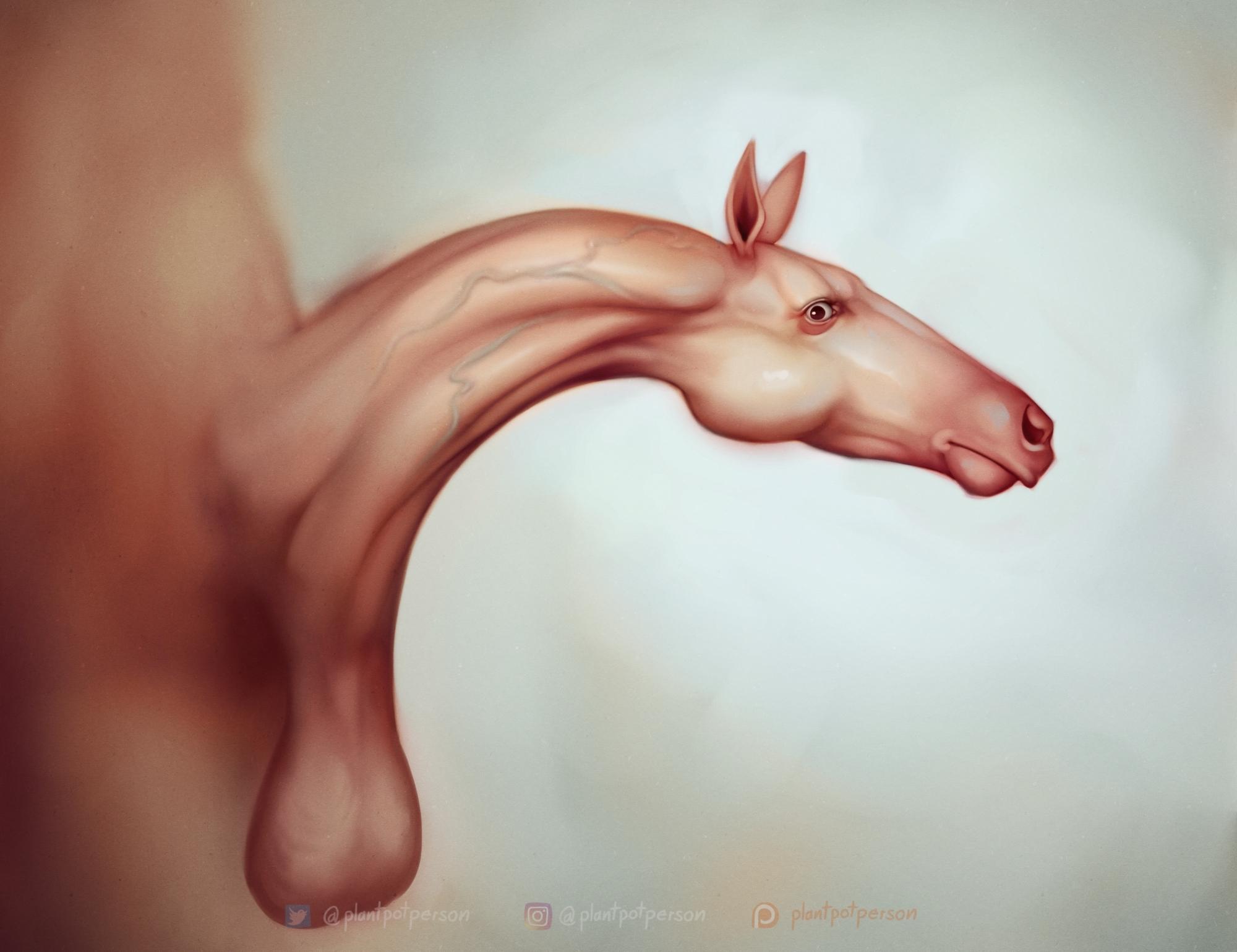 Concerned Horse