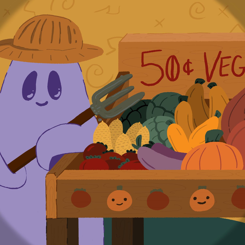 Drawtober2020 - Harvest Festival