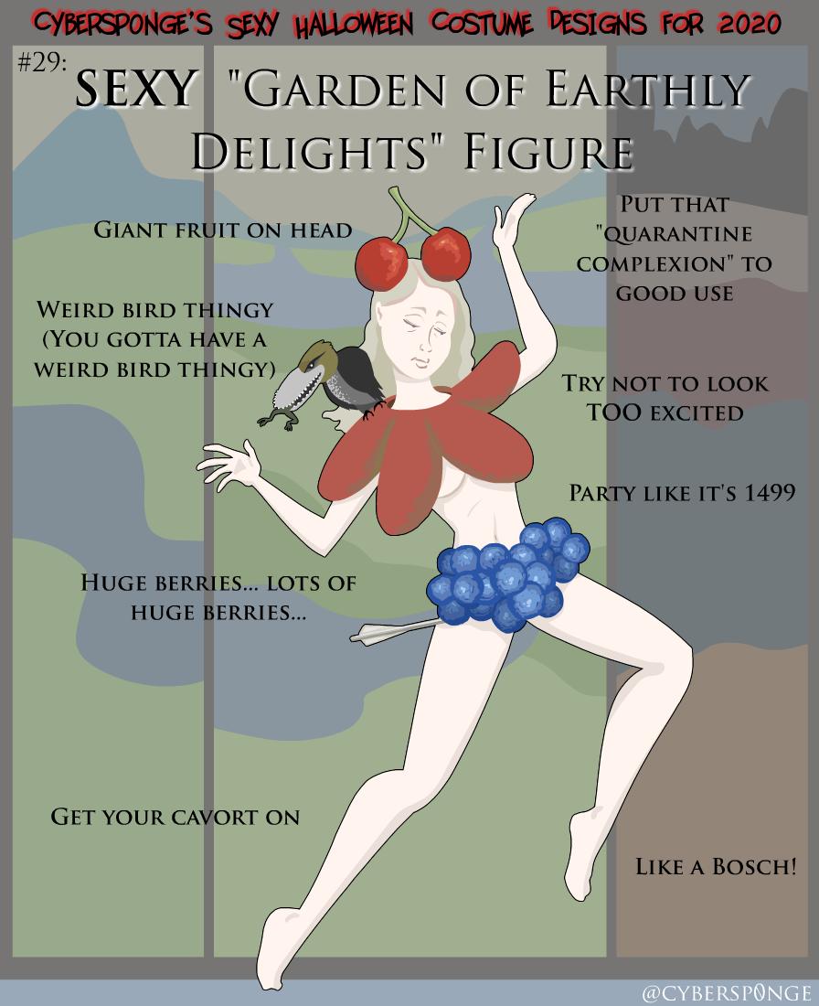 "Sexy ""Garden of Earthly Delights"" Figure Costume"
