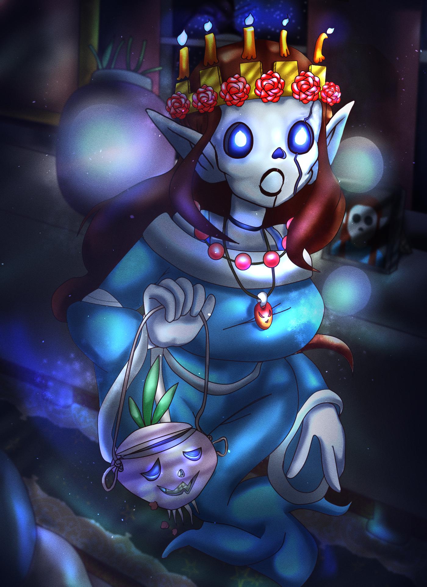 Skull Elf [redraw]