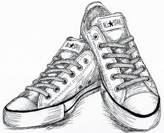 Inktober Day 29:Shoes