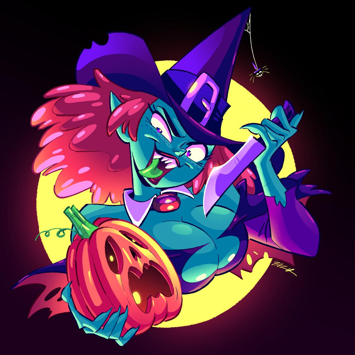 Happy Halloweeeen! Part 2