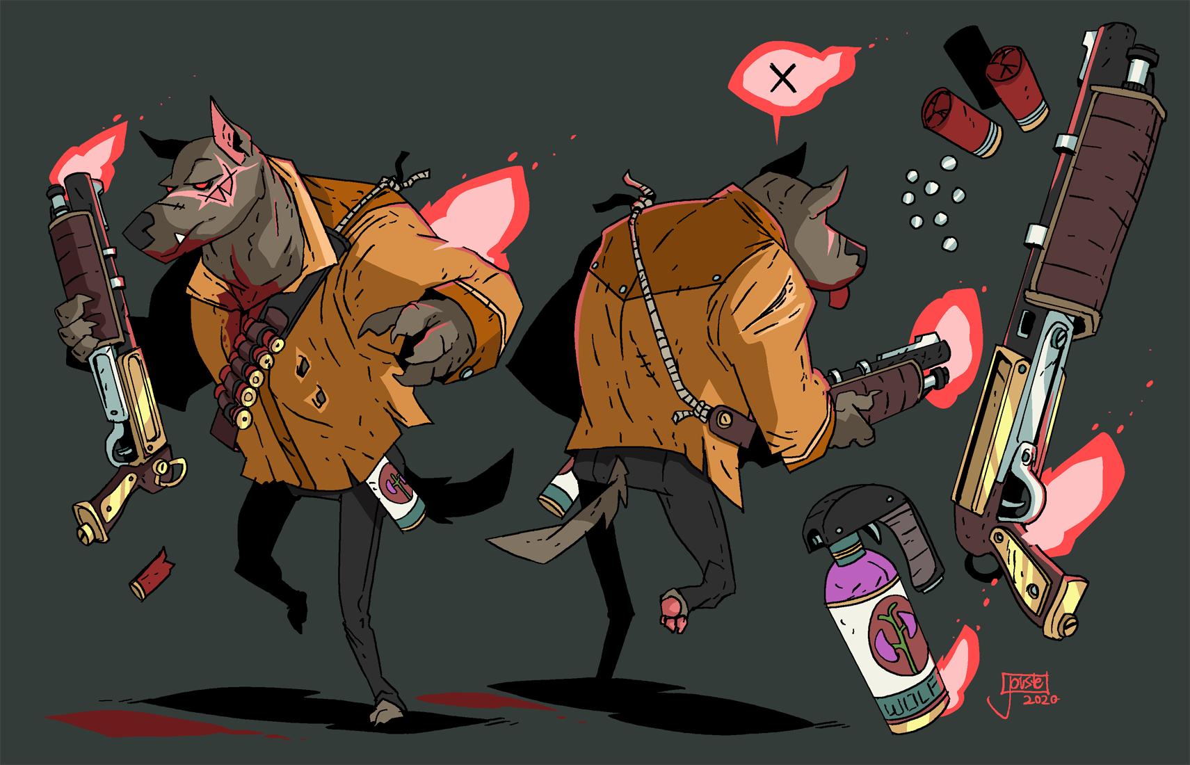 Hound of the Blastervilles