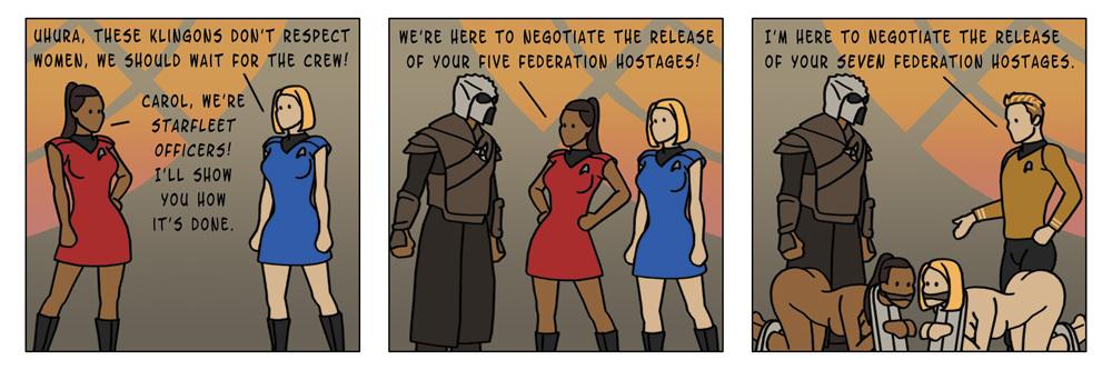 A Hopelessly Hostile Hostage Negotiation