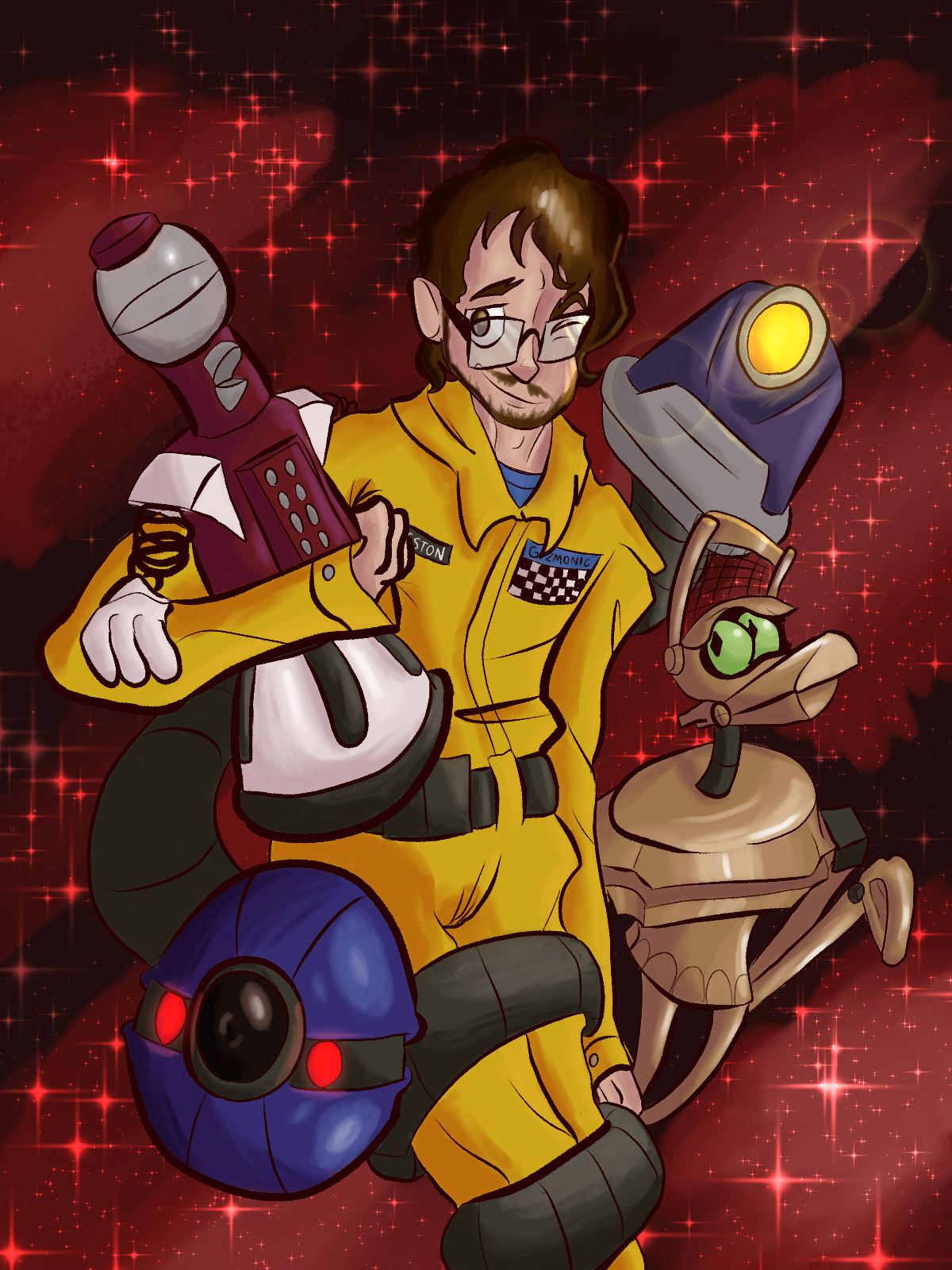 MST3K:We'll get used to you.