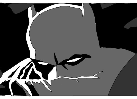 Batman drawing (flash)