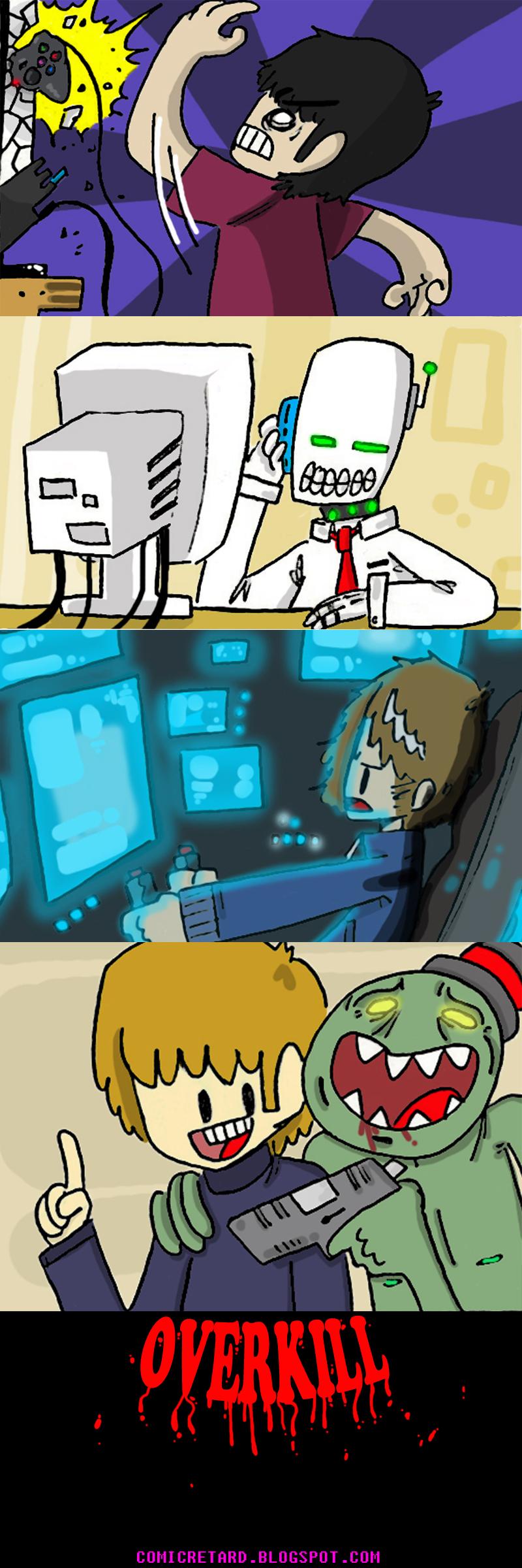 OverKill Comic Montage