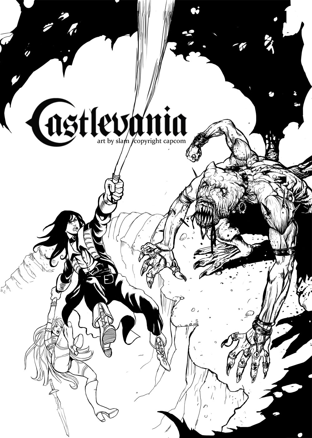 Castlevania - inks