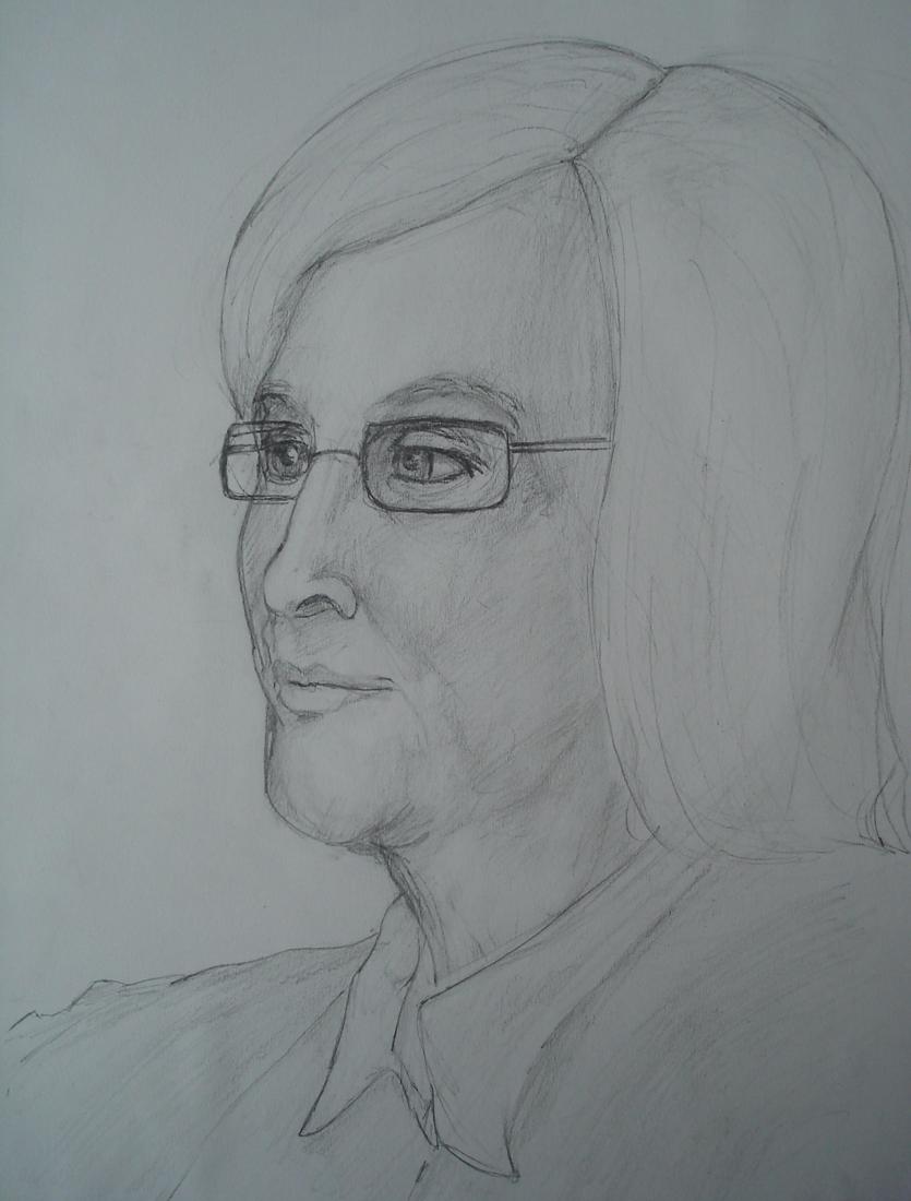 Grandma Portrait #2