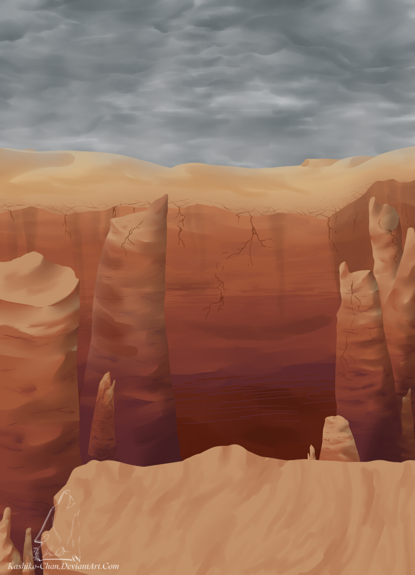Canyon Dragon Backround