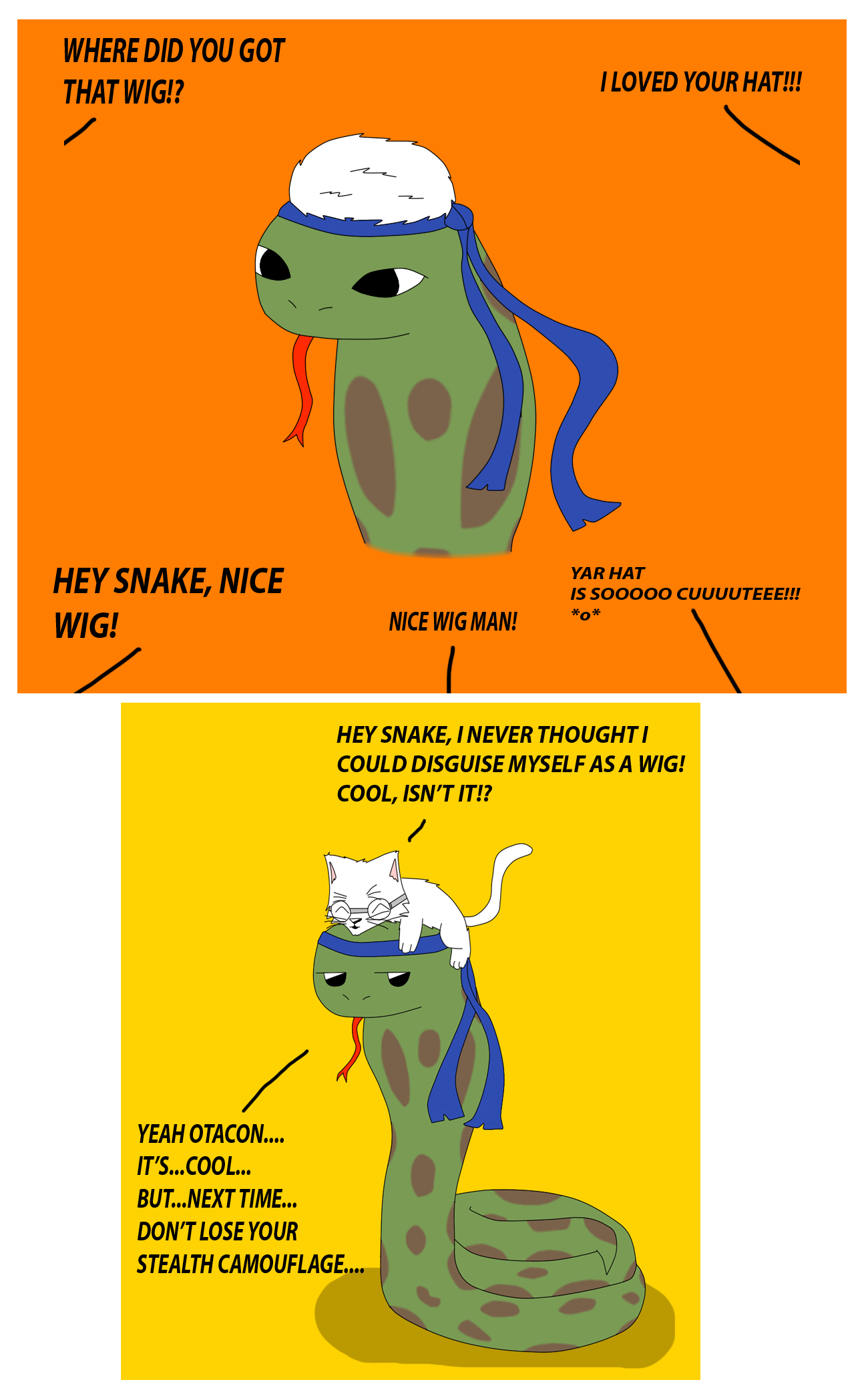 Snake and Otacon