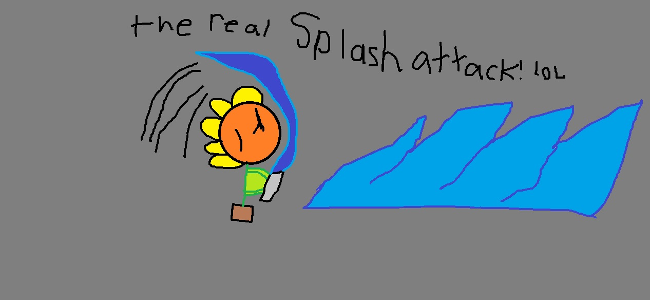 the real splash attack!