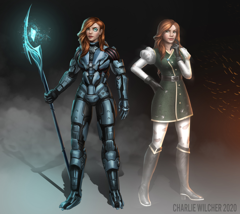 Kaya and Nadya - Character Commission