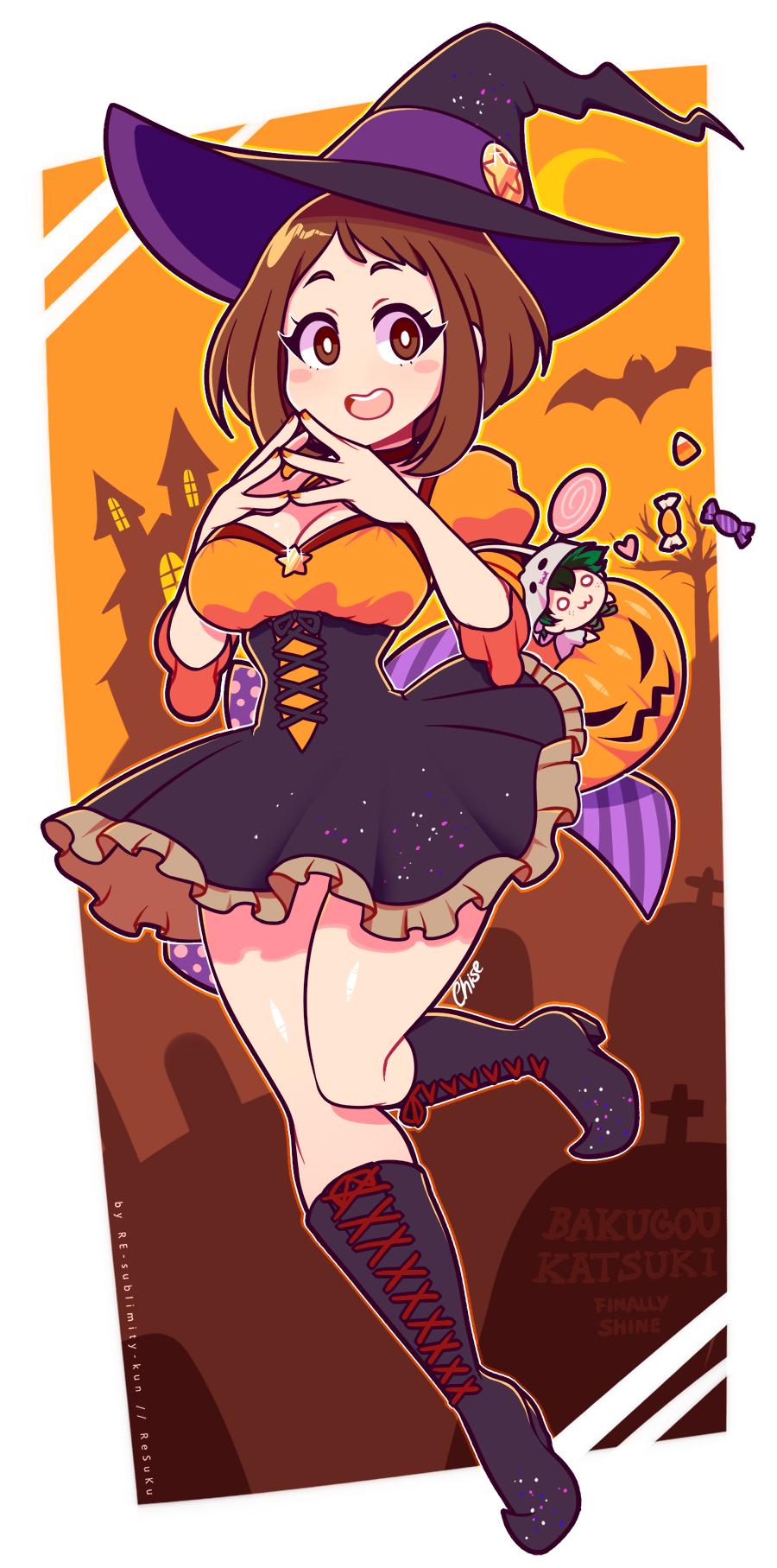 Uraraka Witch