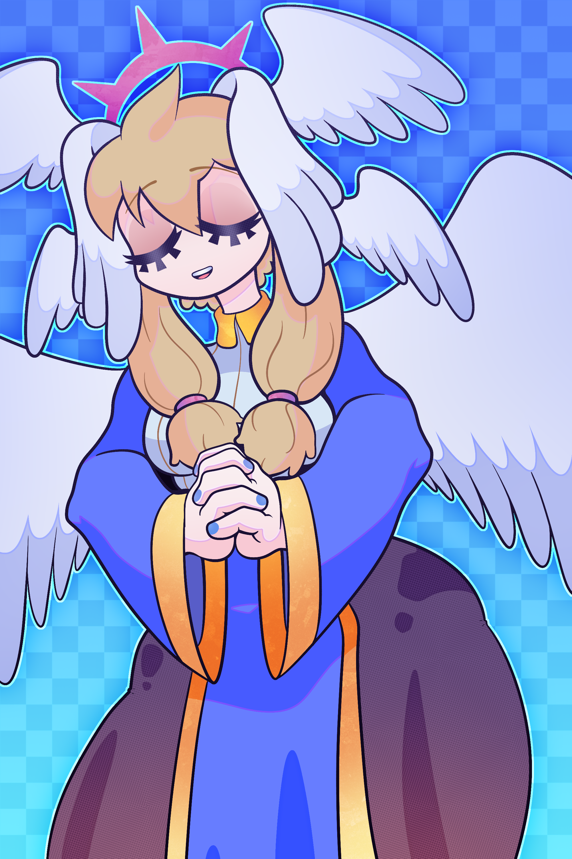 Hibi's Angel OC!